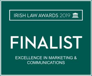 Irish Law Awards - Excellence in Marketing and Communications