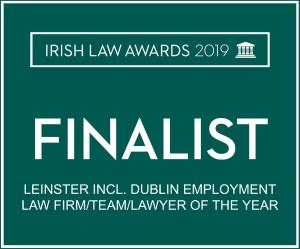 Irish Law Awards 2019 - Leinster employment law firm of the year